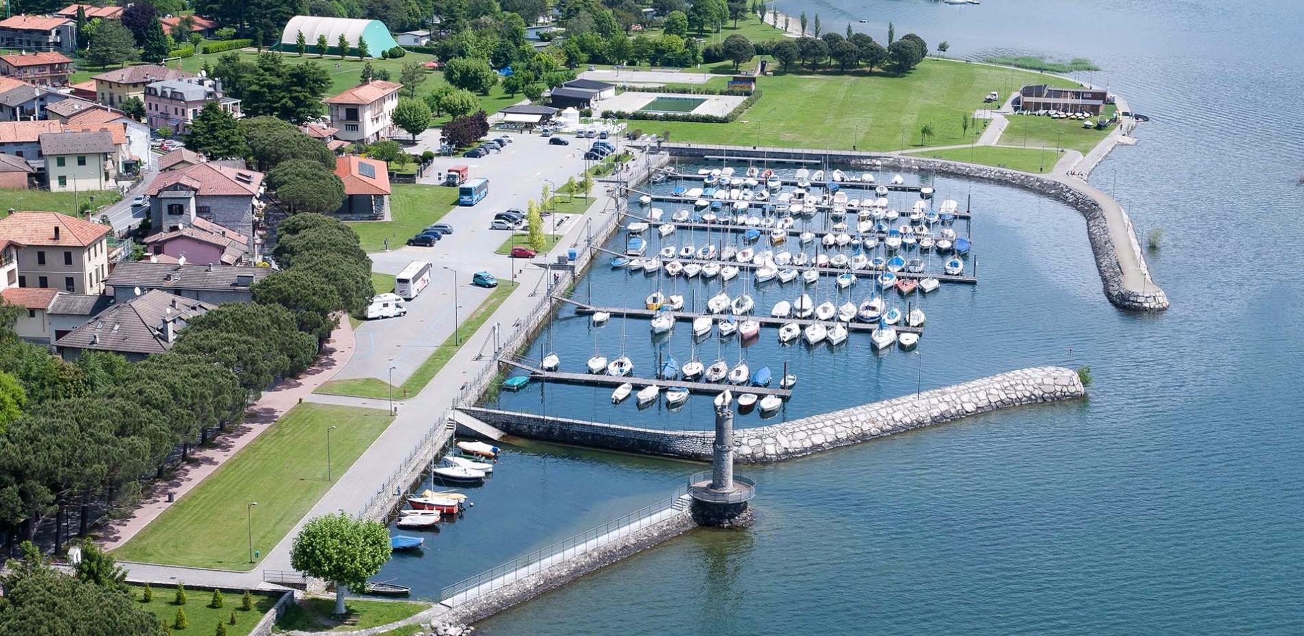 Scorcio porto Gera Lario